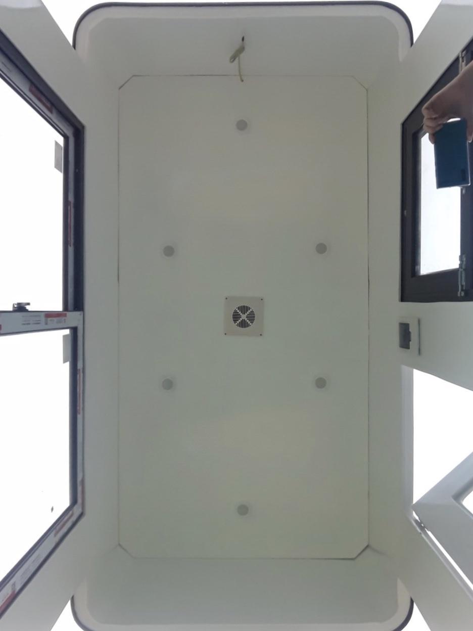 1 1 - Cabin soát vé hai chiều VC2H1400