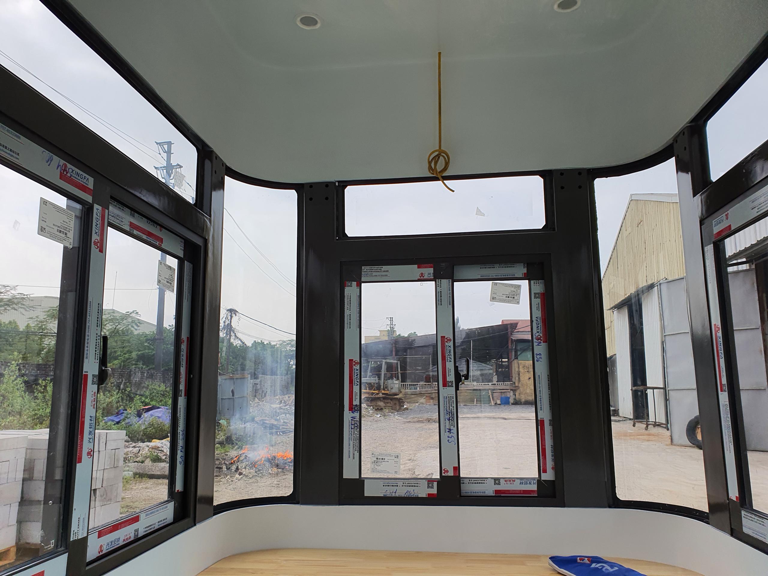 Nội thất nhà bảo vệ khung thép Vinacabin