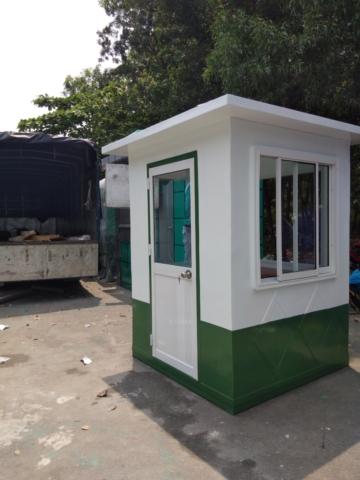 Bốt gác công trình DD 360x480 - Cabin bảo vệ công trường