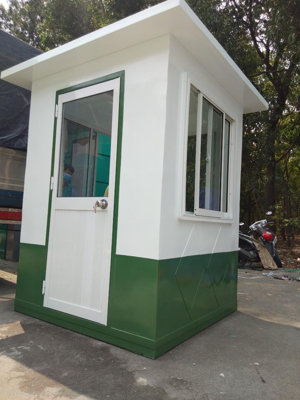 Cabin chốt bảo vệ công trường