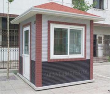 Cabin nhà bảo vệ 2 x 2,2 m