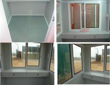 Nội thất cabin bảo vệ bằng composite giá rẻ