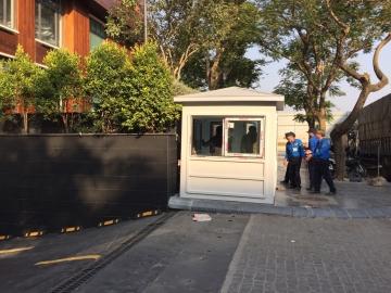 Chốt bảo vệ cao cấp lắp tại phía trước toà nhà