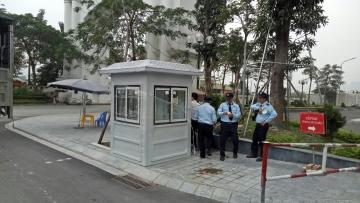 Bàn giao cabin bảo vệ VINACABIN chính hãng tại Ciputra Hà Nội