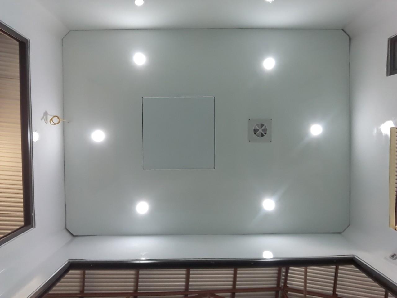 Nội thất nhà bảo vệ Handy Booths